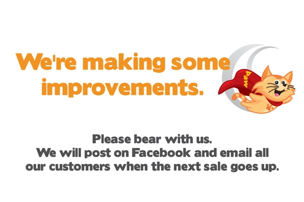 Were making some improvements Please bear with us